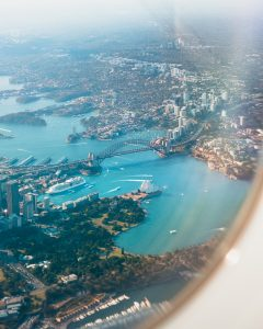 Sydney, Australia, view from above